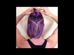 Braid Mohawk For Short Hair - YouTube