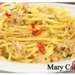 Spaghetti con tonno e limone…. Ospiti inaspettati non ci fate più paura!!!