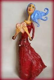 esculturas papel machê - Pesquisa Google