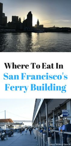 Where To Eat In San Francisco S Ferry Building Shrimp Rollscalifornia Travel