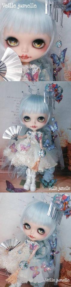 Veille jumelle カスタムブライス *青蘭鋳と蝶々のお遊戯会* - Auction - Rinkya