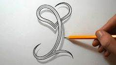 Initial and Heart Combined Together - YouTube