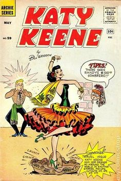 …she's taking them from cartoons. | Turns Out Katy Perry's Been Taking Fashion Cues From An Archie Comics Character