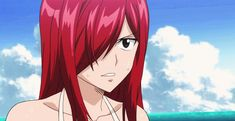 Animated gif uploaded by 春 ♡. Find images and videos about gif, anime and fairy tail on We Heart It - the app to get lost in what you love. Fairy Tail Erza Scarlet, Fairy Tail Natsu And Lucy, Fairy Tail Anime, Jerza, Fairytail, Eden Girl, Erza Scarlett, Fairy Tail Characters, Fairy Tail Guild