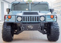"2001 Hummer H1:  1 of 869 made in 2001  1 of 17 made in Blue for the 2001 production line 6.5L Turbo Diesel V8 - Automatic - All Wheel Drive Fuel 20 Inch "" Deep "" Rims  Nitto Mud Grappler Tires ( 38x15.50r20LT ) Critical Mass sound system: Speakers - Subs - Cross Overs - Amps & Tweeters. High Quality Black Velvet Wrap on the roof that you can remove any time. Black Indestructible LINE-X Paint on the Front Brush-Guard & Rear Bumper  http://ift.tt/2qo2RUB"