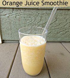 Orange Juice Smoothie Recipe