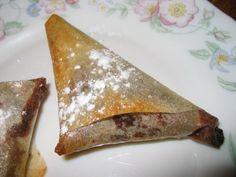 Recette de Samossas au chocolat : la recette