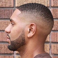 This is an example of the waves hairstyle for a black man. Trendy Mens Haircuts, Black Men Haircuts, Black Men Hairstyles, American Hairstyles, Men's Hairstyles, Latest Hairstyles, Drop Fade Haircut, Short Fade Haircut, Tapered Haircut