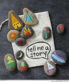 story rocks!  Great for initiative/debrief with a change in pics, and also great for embers, etc.