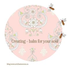Under the category of what I know for sure . . . Creating as a balm for the soul in my latest blog post.  Link to my blog post http://ift.tt/2mc8TpA