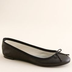 Leather classic ballet flats - J.Crew and other apparel, accessories and trends. Browse and shop 8 related looks.