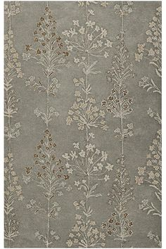 Garden Area Rug - Hand-tufted Rugs - Wool Blend Rugs - Blended Rugs - Transitional Rugs - Floral Rugs | HomeDecorators.com