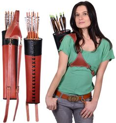 Super Hunter Back Quiver....I want this for my other life as a non city person