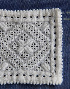 Hardanger 3d Pattern, Hardanger Embroidery, Special Gifts, Norway, Blanket, Granny Squares, Lace, Ideas, Straight Stitch