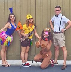 Russell & Carl [feat. Kevin & Dug] (F&F Costume) #Up