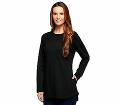 Denim & Co. Active French Terry Tunic