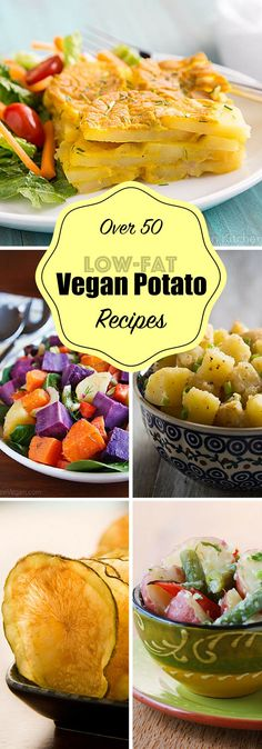 Over 50 oil-free vegan recipes featuring healthy, delicious potatoes!