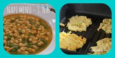 Ma ismét úgy dolgoztam előre, hogy a főzéssel töltött idő kb negyed órával növekedett meg. Tehát a szombati ebédünk készen van, a hűtőben várja a holnapot. Negyed óra alatt egészen biztosannem készült volna el a pazarkacsasült, ebben biztos vagyok. Ma dupla adag levest főztem, zöldborsóból. Ez egy különleges leves, története van. Gyerekkoromban a nagymamám főzött… Chana Masala, Ethnic Recipes, Food, Essen, Meals, Yemek, Eten