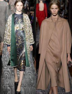 La capa es la prenda estrella de este invierno. También las estolas y las capelinas. @Maison Valentino #HauteCouture  Fall-Winter 2013-2014