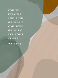 when you seek Me with ALL your heart. Bible Verses Quotes, Bible Scriptures, Faith Quotes, Bible Verses For Hard Times, Cool Words, Wise Words, How He Loves Us, After Life, Trust God