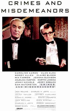 Crimes and Misdemeanors , starring Martin Landau, Woody Allen, Bill Bernstein, Claire Bloom. An opthamologist's mistress threatens to reveal their affair to his wife, while a married documentary filmmaker is infatuated by another woman. #Comedy #Drama