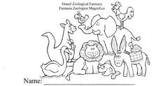 Carnival of the Animals worksheet packet