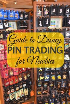 New to Disney pin trading? Here's what you need to know about getting into this fun hobby. Though posted for Disney World, this goes for pin trading at Disneyland too. Walt Disney World, Voyage Disney World, Disney World Tipps, Disney World Tips And Tricks, Disney Tips, Disney World Vacation, Disney Fun, Disney Vacations, Disney Magic