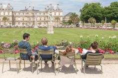 Photos : Josée Noiseux The first time I visited Paris, I fell in love with the Luxembourg Gardens' legendary green. I Fall In Love, Falling In Love, Luxembourg Gardens, First Time, Dolores Park, Mood, Travel, Gardens, Viajes