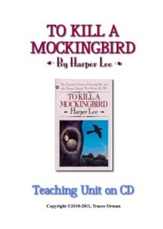 to kill a mockingbird activities tests quizzes unit on cd activities teaching and. Black Bedroom Furniture Sets. Home Design Ideas