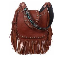 b60431a755 Double J Saddlery Brandy Hobo Bag