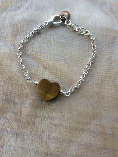 Facebook, Mums Jewellery Shed - chunky tigers eye bracelet