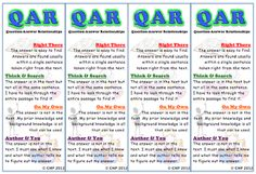 New TPTer!  Great QAR Poster Set!
