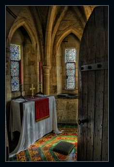A Peek inside the Sacred Room