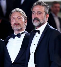 Double trouble... Mads Mikkelsen & Jeffrey Dean Morgan