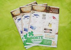 Panfleto de ofertas criado pela Agência Conceito.