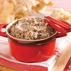 Cretons minute au veau Pork Recipes, Healthy Recipes, Cooking Tips, Cooking Recipes, Brunch, Charcuterie, Nutrition, Food To Make, Oatmeal