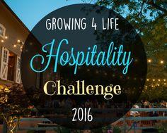 Growing 4 Life Hospitality Challenge: MAY
