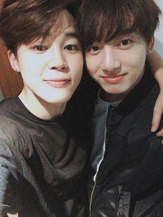 Jimin and Jungkook bts