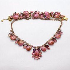 Juliana-Pink-Fluss-adventurine-Amethyst-Rhinestone-Demi-Parure-Necklace-Bracelet