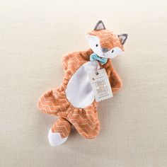 Le Petit Prince Fox Stuffed Animal -Cuddles and Snuggles Fox Plush Lovie By Baby Aspen