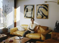 At home with Anouck Lepère.