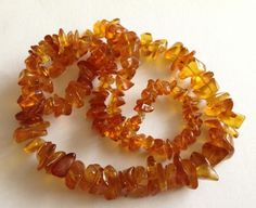 Antique Baltic Amber Graduated Necklace