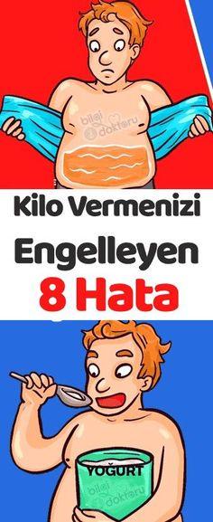 Kilo Vermenizi Engelleyen 8 Hata Simple Life Hacks, Natural Herbs, Adolescence, Diet And Nutrition, Detox, Health Fitness, Weight Loss, Exercise, Children