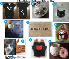 9 Fun Holiday Cat Lover Gifts on Etsy http://www.floppycats.com/9-fun-holiday-cat-lover-gifts-on-etsy.html