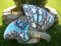 $65 carseat cover. super cute if there's a new baby!