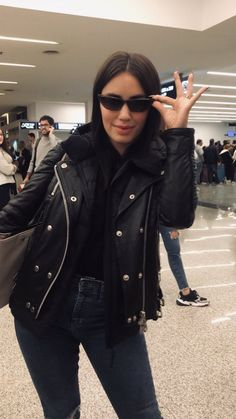 Camila Gallardo, Teen, Leather Jacket, Punk, Jackets, Outfits, Black, Girls, Fashion