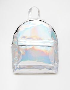 ASOS Hologram Backpack - Silver