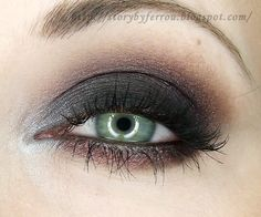 Black Smoky Eyes – Makeup Geek