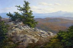 From Laraway Mountain by Andrew Orr Oil ~ 16 x 24