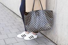 Marlene Birger Bag and Adidas Superstar shoes! <3